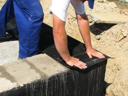 гидроизоляция фундамена