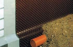 гидроизоляция дома рубероидом