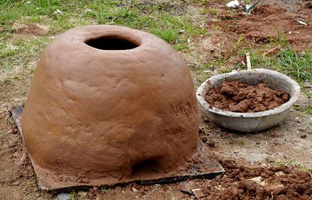 глиняный тандыр