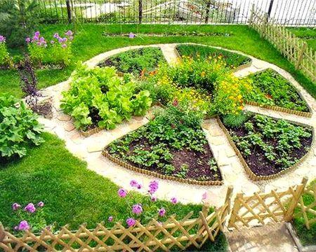 огород грядки