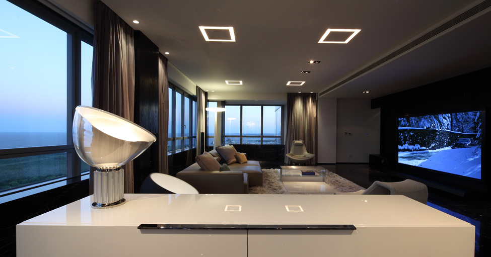 Дизайн дома стиле хайтек