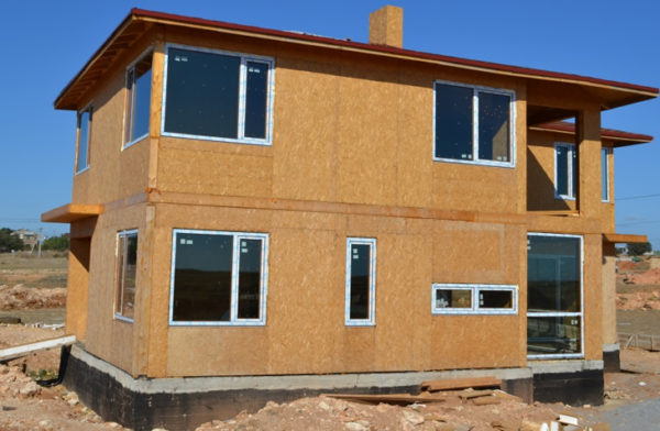 дом из панелей
