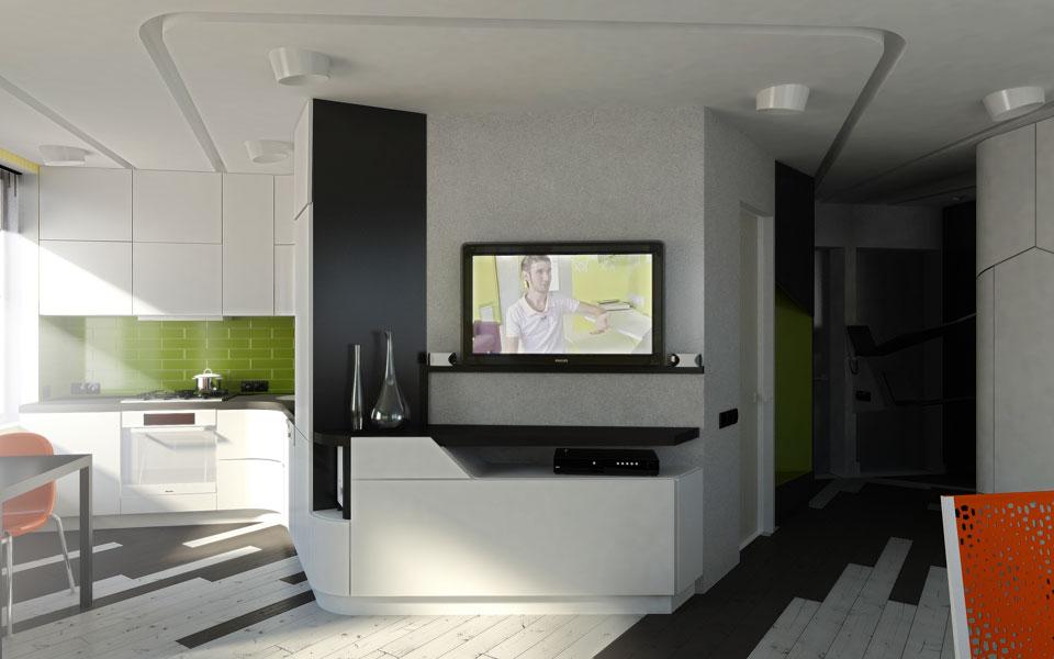 Дизайн студии квартиры хрущевки