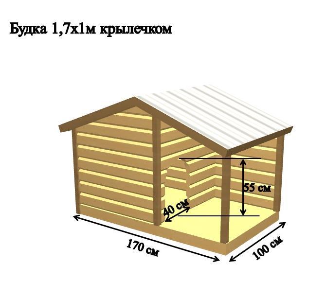 домик с крыльцом