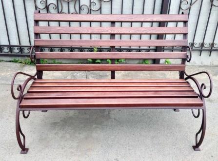 Садовая скамейка со спинкой своими руками: чертежи изделий