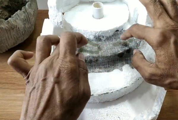 Армирование штукатурной смеси