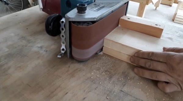 шлифовка доски