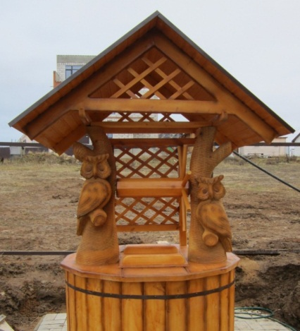 Декор колодца