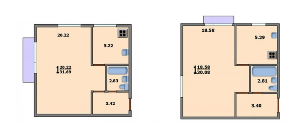 Квартиры в домах серии 510 и 515