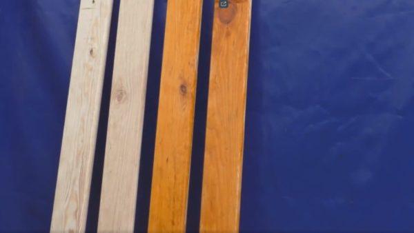 покраска доски