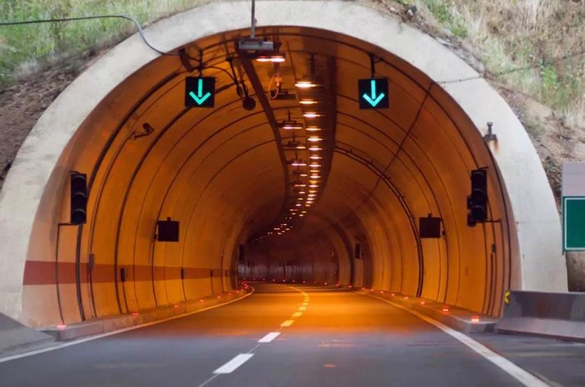 Въезд в туннель