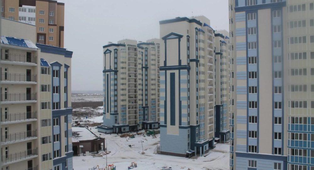 Современные многоэтажки