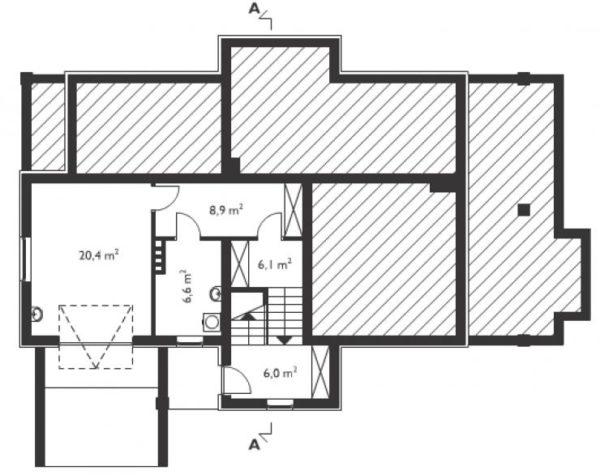 чертеж этажа