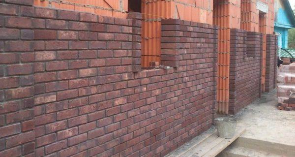кладка стены