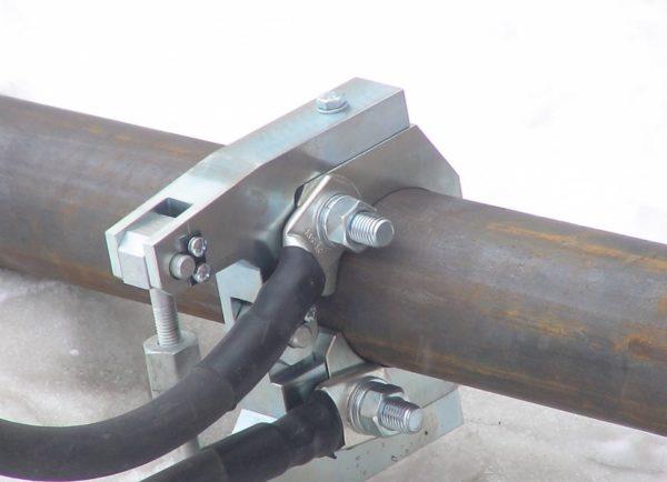 подключение трубы