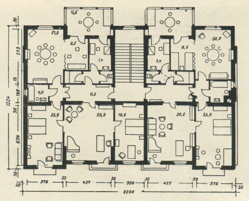 Планировка квартир в сталинских домах