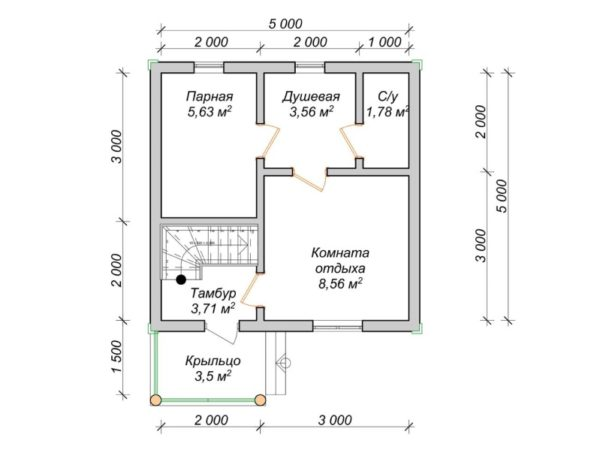 схема комнат