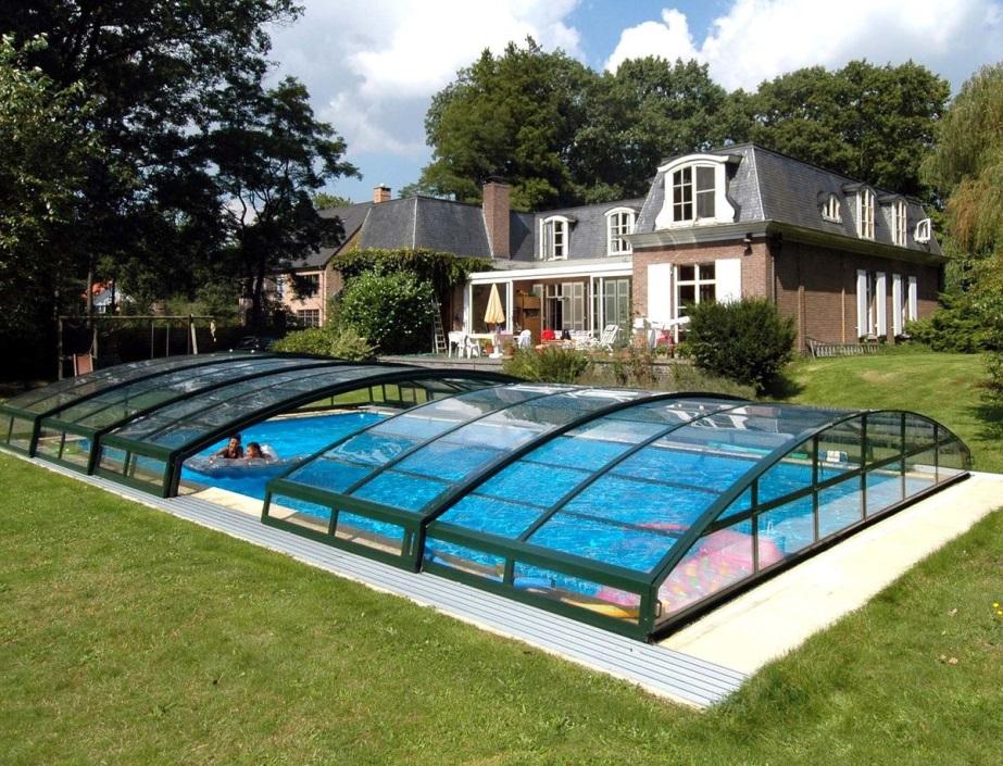Крытый бассейн на даче своими руками Пластиковые Бассейны для дачи