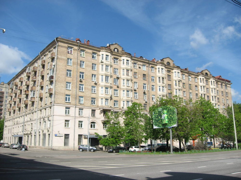 Дом сталинской эпохи