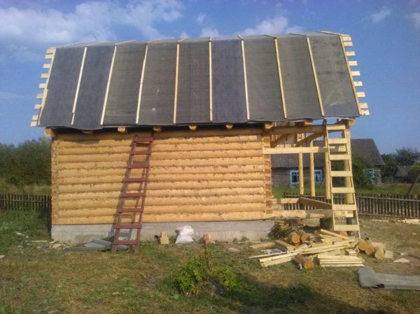 этап строительства