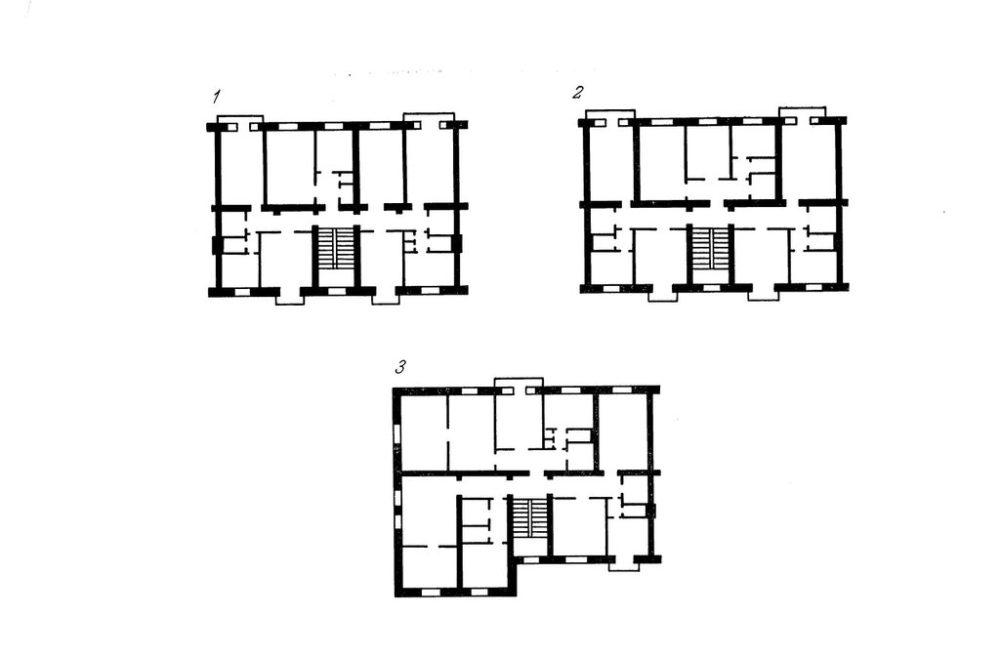 Квартиры в домах серии 1-255