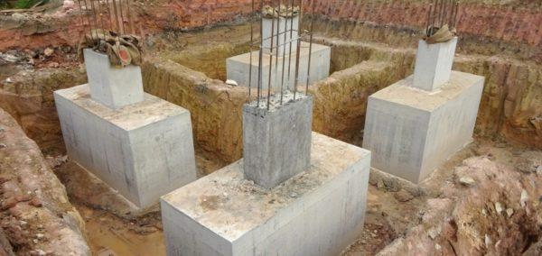 готовые столбы