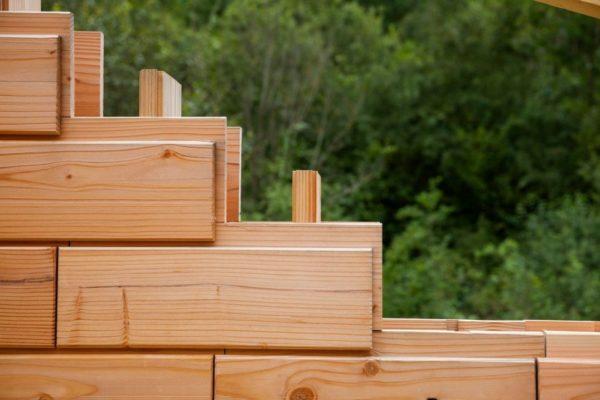 деревянный кирпич
