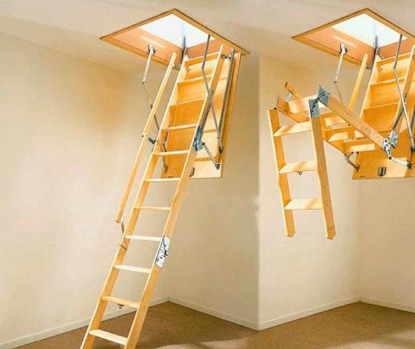складная тетива лестницы
