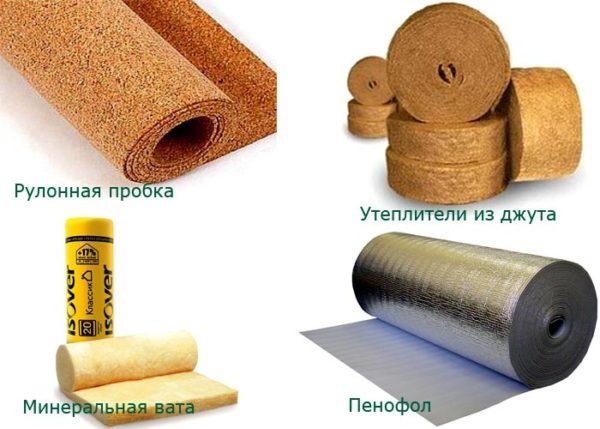 материал утеплителя