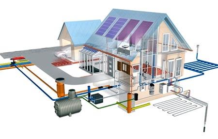 инженерные сети дом