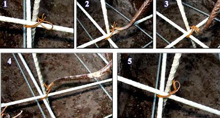 инструкция вязки арматуры