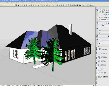 проект дома в Autocad
