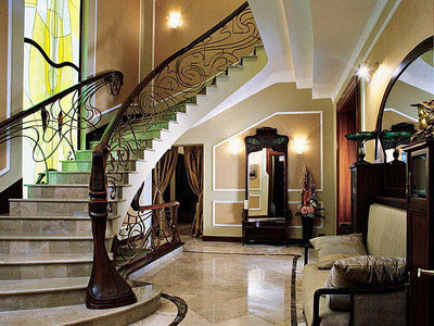 интерьер дома в стиле модерн