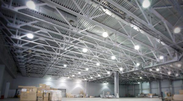 Освещение в промышленных помещениях