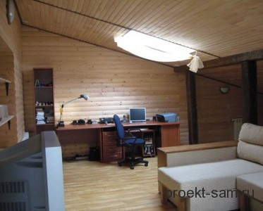 кабинет на чердаке
