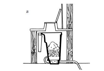чертеж канализации дачного туалета