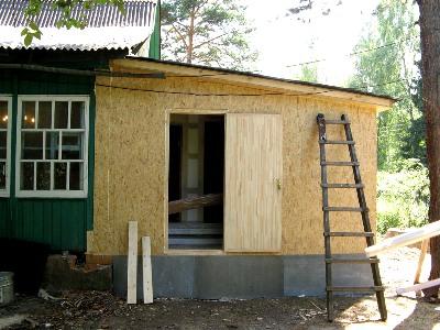 Как сделать фундамент к пристройке дома