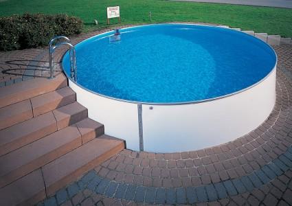 пластиковый каркасный бассейн