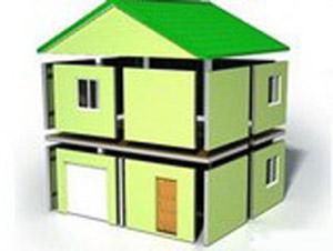 каркасно-панельная модель частного дома