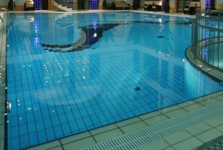 отделка бассейна керамогранитом
