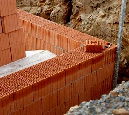 Как построить фундамент для кирпичного дома