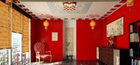 китайский дом внутри