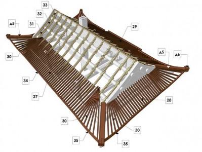 схема китайской крыши