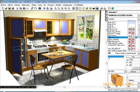 программа Kitchen Draw