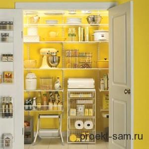 кладовая рядом с кухней