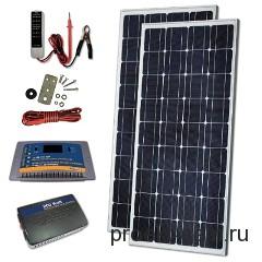 комплект солнечных батарей для дома