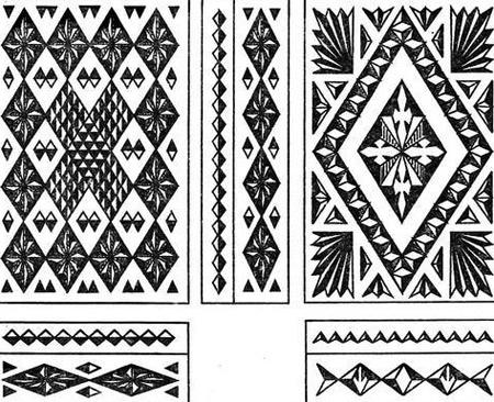композиция геометрическая резьба