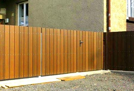 забор древесно-полимерный композит