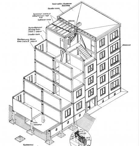 конструкция 5-ти этажного дома