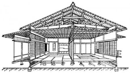 Конструкции японского дома